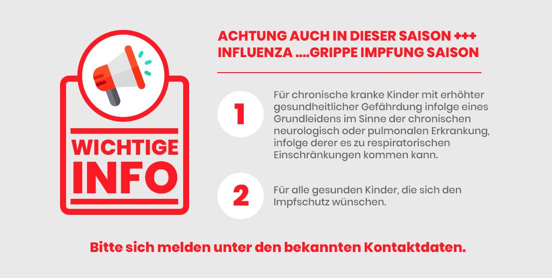 Grippe Impfung Saison